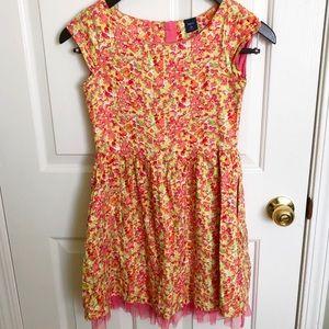 Multicolored Flower Dress | Gap | 10 L